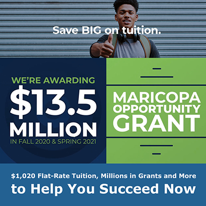 $1,020 Flat-Rate Tuition, Millions in Grants and More to Help You Succeed Now