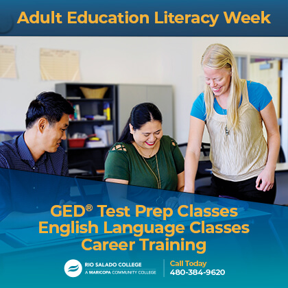 National Adult Education and Family Literacy Week