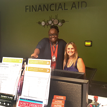 Dedicated members of our Rio Salado Financial Aid team are ready to assist you.