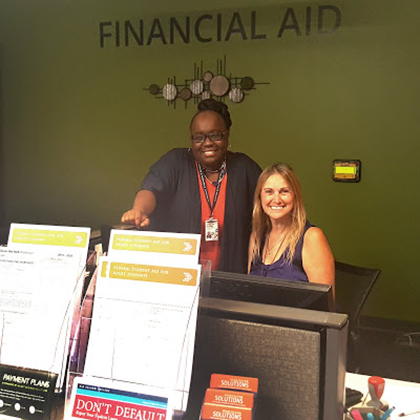 Dedicated members of our Rio Salado Financial Aid team ready to assist you