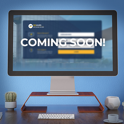photo of a computer screen with Rio Salado College logo and text 'Coming Soon'
