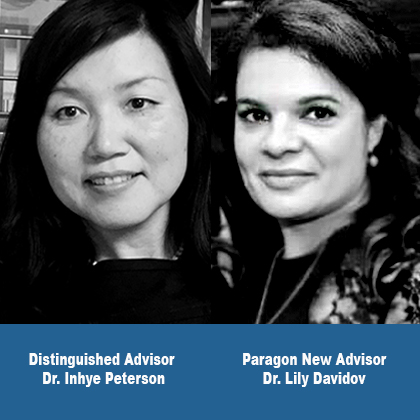 Dr. Inhye Peterson and Dr. Lily Davidov