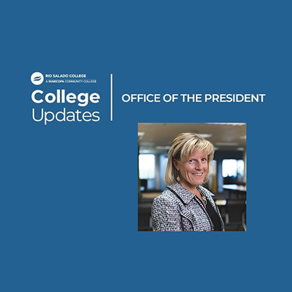 We're Celebrating Community College Awareness Month message from Interim President Kate Smith