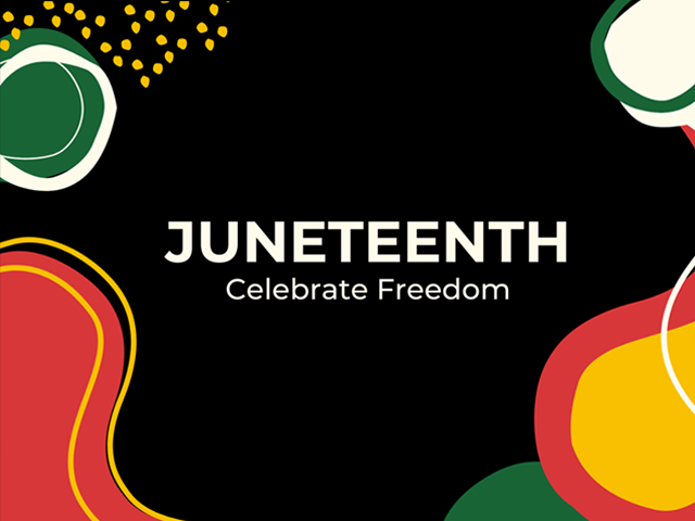 Poster Juneteenth, Celebrate Freedom