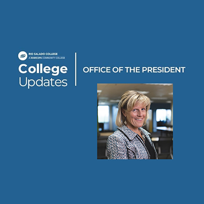 College Updates Office of the President, Image of President Kate Smith