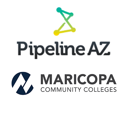 Pipeline AZ and Maricopa Community Colleges logos