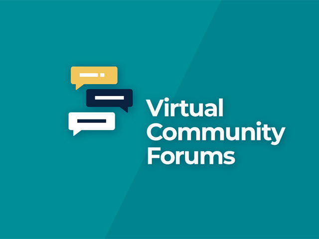 Virtual Community Forums poster