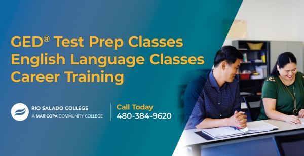 GED Test Prep Classes, English Language Classes, Career Training