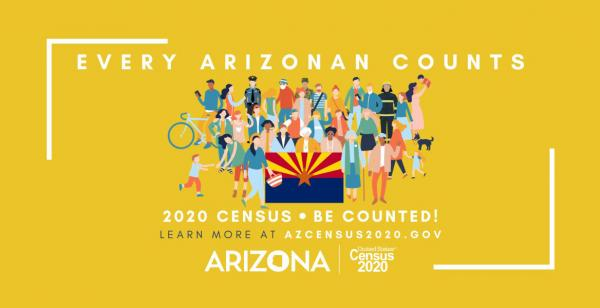 2020 Census Poster for Arizona