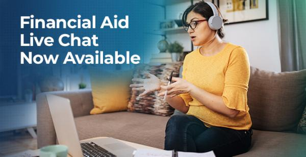 Financial Aid Live Chat Now Available