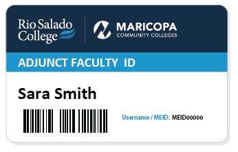 Current faculty ID Card