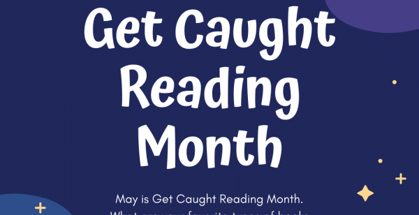 Graphic reads, Get Caught Reading Month